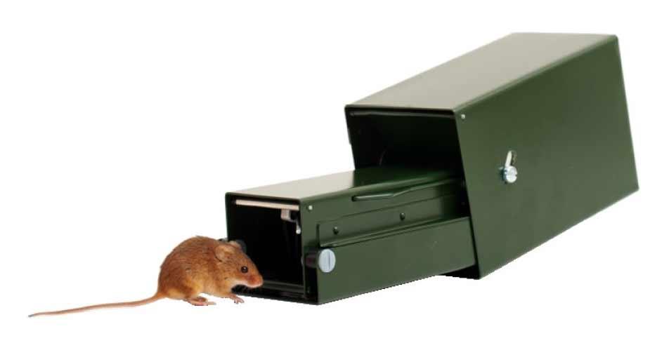 Lifetrap, Heslinga o trampas de captura vivas para Captura de pequeños mamíferos